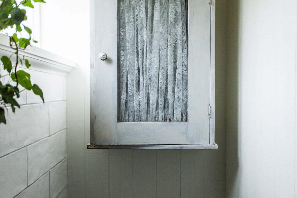 Skåp i badrum